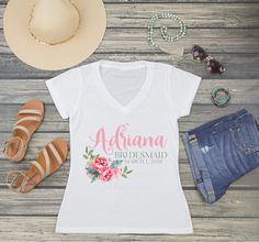 Planning for your best day ever is almost complete with our adorable personalized shirts. Shirts are a must have for any bride tribe. Let everyone know who's part of the PAAAA-RRTY! Wedding Party Shirts, Personalized Shirts, Team Bride, Best Day Ever, Tank Top Shirt, Tank Tops, Mother Of The Bride, T Shirts For Women, Bridal
