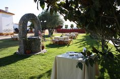 #FincalaJara #madrid #bodas #decoracion #catering #novios #bodasdistintas #Patio de caballos #Patioandaluz