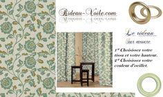 Rideau d'intérieur décoration unique www.rideau-voile.com