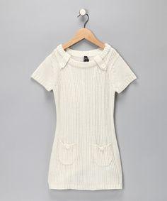 Love this Birch Sweater Dress - Girls #zulily #fall