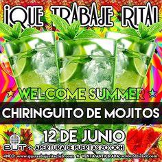 Este DOMINGO pedo de #MOJITOS a 5 en nuestro #CHIRINGUITO. Decimos HOLA al verano por todo lo alto con la internacional #LOONA vedettes bikinis cuerpazos musicón y muchas sorpresas! #WELCOME #SUMMER  Hazte ya con tu ENTRADA ANTICIPADA PREFERENTE  ENTRADAS VIP's RESERVADOS Y LISTAS de ANDY PEOR al #WhatsApp 699 405 388 Que trabaje Rita! Sala BUT Calle Barceló 11