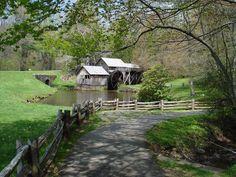Mill on Blue Ridge Parkway , Virginia, USA