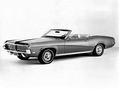 Mercury Cougar Convertible (1969).