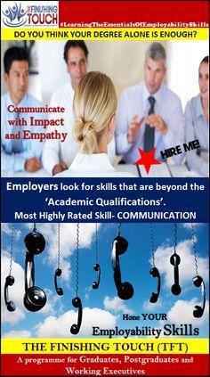 Hone your Employability Skills....