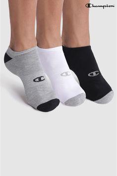 580e7fdeb66 Mens Champion Socks 3 Pack - Black