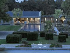 New build Cotswold pool room Contemporary Barn, Modern Barn, Inspiration Design, Modern Farmhouse Exterior, Stone Houses, Maine House, Pool Houses, Architecture, Exterior Design