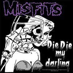 Misfits - Die Die My Darling Patch