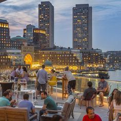 Boston.-Lookout Rooftop and Bar - The Best Rooftop Bars on the Coast - Coastal Living