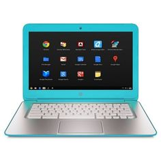 HP 14-q039wm Celeron 2955U Dual-Core 1.4GHz 4GB 16GB SSD 14 LED Chromebook Chrome OS w/Webcam & BT (Ocean Turquoise)