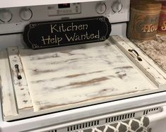 Wood Stove Top Cover, Wooden Stove Top Cover, Stove Cover for Extra Counter Space, Great for Small Apartment, Flat Top Noodle Board by KingsleyWoodworking on Etsy Kitchen Stove, Kitchen Decor, Kitchen Ideas, Kitchen Wood, Kitchen Hacks, Wooden Stove Top Covers, Stove Covers, Flat Top Stove, Sink Cover