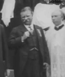 """ladyhistory: """"As if I didn't love Teddy Roosevelt enough, he went and did this."""""""