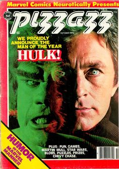 120inna55 | Pizzazz (October 1978)excerpts.  Interview with Stan Lee on The Incredible Hulk TV series from the '70s.