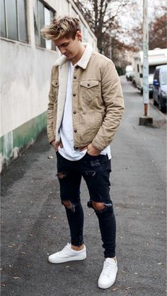 31 Dope outfits you should copy! Mens Fall Outfits, Stylish Mens Outfits, Dope Outfits, Casual Summer Outfits, Fashion Outfits, Casual Male Outfits, Outfits For Men, Urban Outfits, Trendy Mens Fashion
