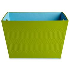 Happy Chic by Jonathan Adler Charlotte Embossed Storage Box  found at @JCPenney
