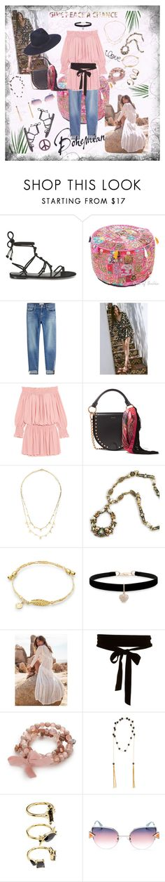 """""""Bohemian Style: """"My Bohemian Style"""""""" by onesweetthing ❤ liked on Polyvore featuring Temperley London, Frame, Spell & the Gypsy Collective, Norma Kamali, Sacai, rag & bone, Lana, Sweet Romance, Betsey Johnson and Kim Rogers"""