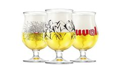 Duvel beer glassware design competition winners announced. Etching your name in glass works better than stone...plus you can't drink out of a stone. #craftbeer #beercup