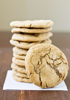 2 kinds of ginger make these Double Ginger Cookies extra special! | Culinary Hill