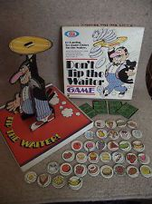 Vintage Ideal Dont Tip The Waiter Game - Very Rare - 100% Complete