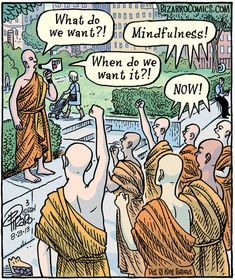And sometimes Dan in Bizarro makes us reflect on our humanity and remember Life's too mysterious to take it too serious. Bizarro is one of my daily practices. Ozzie Mindfulness.com