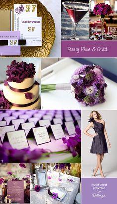 Purple and plum wedding ideas