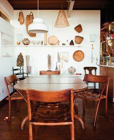 enamelist june schwarcz sausalito house, photos by leslie williamson via american craft council http://aneclecticeccentric.wordpress.com/2013/03/21/enamelist-june-schwarcz-at-home-sausalito-ca/