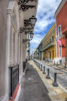 ☀ Puerto Rico ☀Streets of Old San Juan, Puerto Rico
