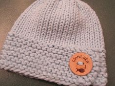 Glen Lake Michigan  Knitted Baby Hat with Cute by UpNorthKnits, $26.00