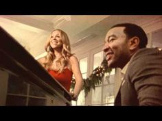 Mariah Carey, John Legend - When Christmas Comes. One of my favorite Christmas collaborations <3