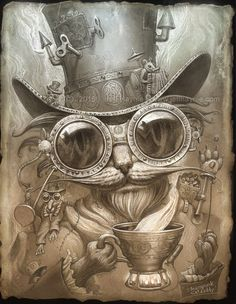 Jeff Haynie Steampunk catdaddy