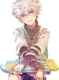 hunter x hunter killua fanart - Google Search