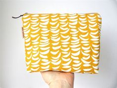 Waterproof lining interior and lovely thick cotton exterior. Gorgeous gold and white fabric design. Also makes a wonderful travel pouch or. Baby Checklist, Wet Bag, Wet Wipe, New Mums, Handmade Items, Handmade Gifts, White Fabrics, Fabric Design, Pouch