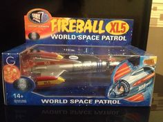 Fireball XL5 Gerry Anderson Collectible Diecast