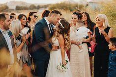 Γαμος στην Αλεξανδρουπολη | Θεοδωρα & Θεοδωρος - Love4Weddings Bridesmaid Dresses, Wedding Dresses, Wedding Moments, Real Weddings, Most Beautiful, Kiss, In This Moment, Couple Photos, Couples