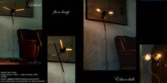 Stehleuchte - edison bulbs 135cm Edison Bulbs, Vintage Lighting, Bathroom Lighting, Mirror, Home Decor, Bathroom Light Fittings, Bathroom Vanity Lighting, Decoration Home, Room Decor