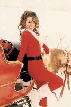 mariah carey merry christmas photoshoot - Buscar con Google ...