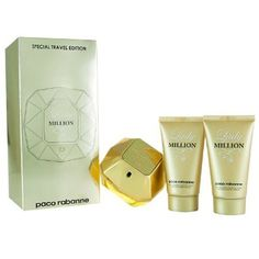 Paco Lady Million EDP 80ml & 2 x 50ml Body Lotion by Paco Rabanne. $77.99. Paco Lady Million Gift Set contains EDP 80ml & 2 x 50ml Body Lotion. Save 18%!