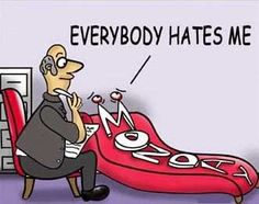 Monday: Everybody hates you