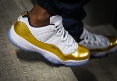 """45b7a82210bc Releasing Tomorrow-The Air Jordan 11 Low """"Closing Ceremony"""" Exclusive Video…"""