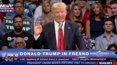 """Water Scientist Donald Trump on Fixing California's Drought: """"Start Opening Up the Water"""" 