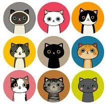 round stickers with pictures on - Google Search