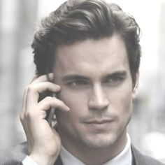 I totally pictured him as Christian Grey. He's so sexy. Freaking gay men, they're lucky to have him.