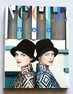 Vintage Italian Vogue Magazine #VogueMagazine #VintageVogueMagazine #Fashion #Style #ItalianStyle #Prada