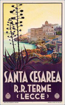 ITALY - Santa Cesarea R.R. Terme - vintage travel