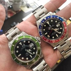 Xupes.com : Rolex submariner Rolex GMT master-II