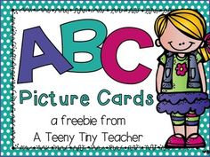 These picture cards can be used for several different activities!  Use the cards for introducing the alphabet, letter identification, beginning sounds, ending sounds, ABC order, centers, etc.The picture cards come in both color and black and white.This pack was made with DJ Inkers Clipart.