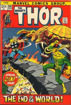 The Norns see that Thor is about to die at the hand of Pluto, and recall that Thor is destined for another death. They recall the tale of Ragnarok, and save Thor from Pluto and for his destiny. Marvel Comic Books, Comic Book Characters, Marvel Characters, Comic Character, Comic Books Art, Comic Art, Book Art, Silver Age Comics, Jack Kirby