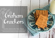 What's your favorite way to enjoy a Graham Cracker? With an ice cold glass of milk or holding together a oozy-gooey s'more at a summer camp fire? Either way, my Grain, Gluten & Nut Free Graham Cracker Recipe will bring back all those treats you've been missing – in a HEALTHY way! Oh and if …