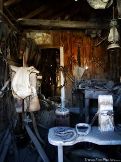 The Old Stable in The Ghost Town of Bodie, California – USA