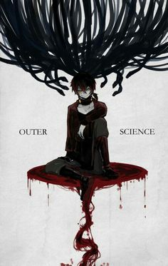 """Outer Science""~this song is really dark and from what I gather from YouTube comments, the story is even darker than what's revealed in the song (I'm reading the manga and I'm gonna read the light novel, but it isn't released in the US yet T-T)"