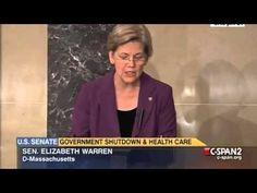 Sen. Warren on Republicans' Shutdown Threats #media